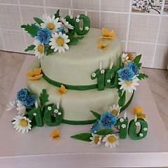 604 X 604  77.7 Kb Свадебный торт!