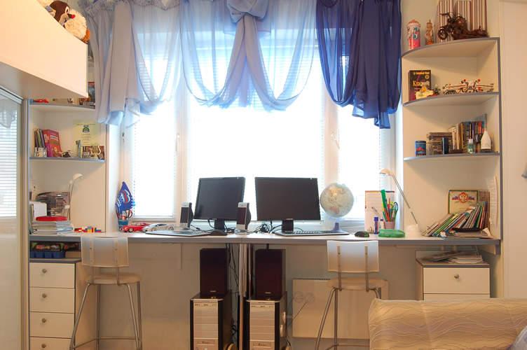 Письменный стол подоконник, фото, примеры, идеи, советы.