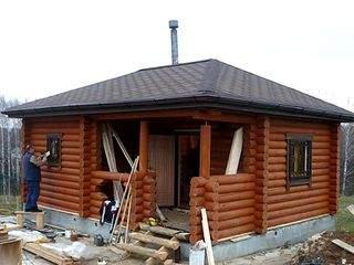 1024 X 768  90.9 Kb Строительство и Проектирование домов, коттеджей, бань под ключ! (ФОТО)