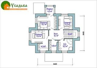 990 X 700 213.6 Kb 990 X 700 229.0 Kb Проекты уютных загородных домов