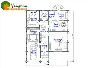 990 X 700 241.7 Kb Проекты уютных загородных домов