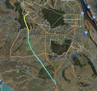 628 X 589  83.4 Kb Автомобильный мост через Каму. Новая дорога