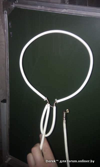 Цифровая антенна из кабеля своими руками