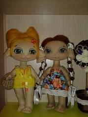 605 X 807  86.5 Kb Вяшата- помощники домового. Авторская текстильная кукла.