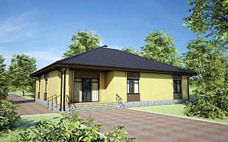1280 X 800 238.5 Kb Проекты уютных загородных домов