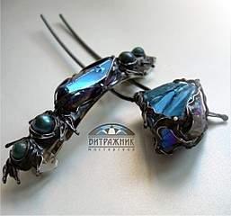 1075 X 1003 159.8 Kb Красивые заколки, украшения с нат.камнями и мн.другое - техника Тиффани