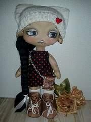 605 X 807 112.2 Kb 480 X 480  50.2 Kb Вяшата- помощники домового. Авторская текстильная кукла.