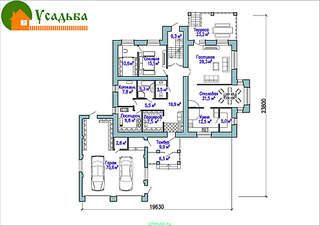 990 X 700 211.3 Kb Проекты уютных загородных домов