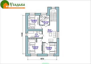 990 X 700 166.1 Kb 990 X 700 211.3 Kb Проекты уютных загородных домов