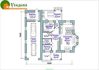 990 X 700 213.2 Kb Проекты уютных загородных домов