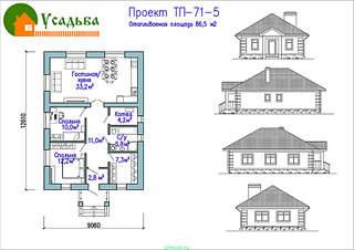 990 X 700 246.8 Kb Проекты уютных загородных домов