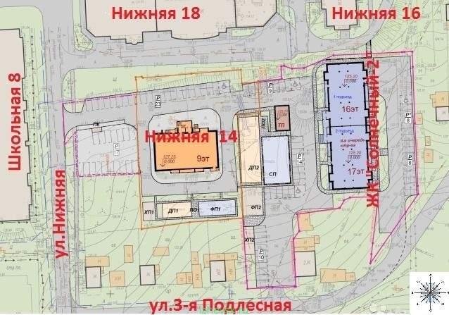 638 x 447 ЖК Солнечный -2, ул.Нижняя 1-2-3 ком Кирпич, поквартирное Отопление(фото)