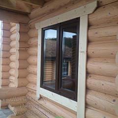 960 X 960 345.4 Kb Окна пластиковые и обсадные коробки (окосячка ) в деревянные коттеджи.