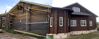 1000 X 400 121.3 Kb 900 X 668 216.0 Kb Шлифовка, покраска, конопатка, герметизация деревянных домов и бань. Профессионально!