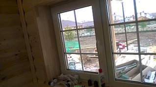 1400 X 786 437.5 Kb Окна пластиковые и обсадные коробки (окосячка ) в деревянные коттеджи.