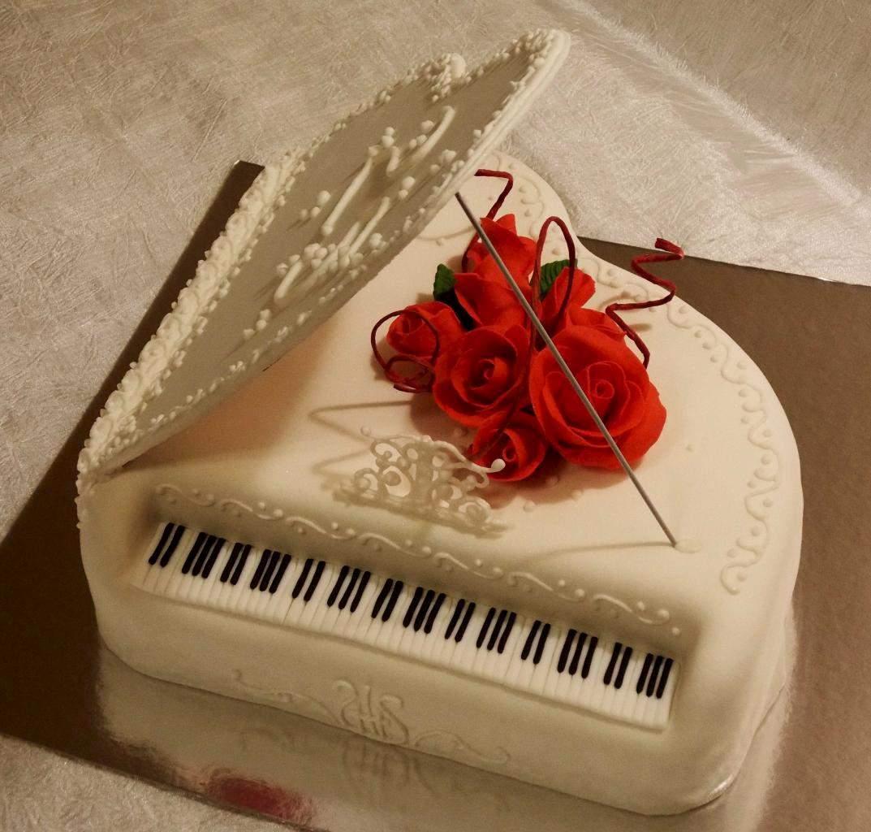 Открытки с роялем с днем рождения