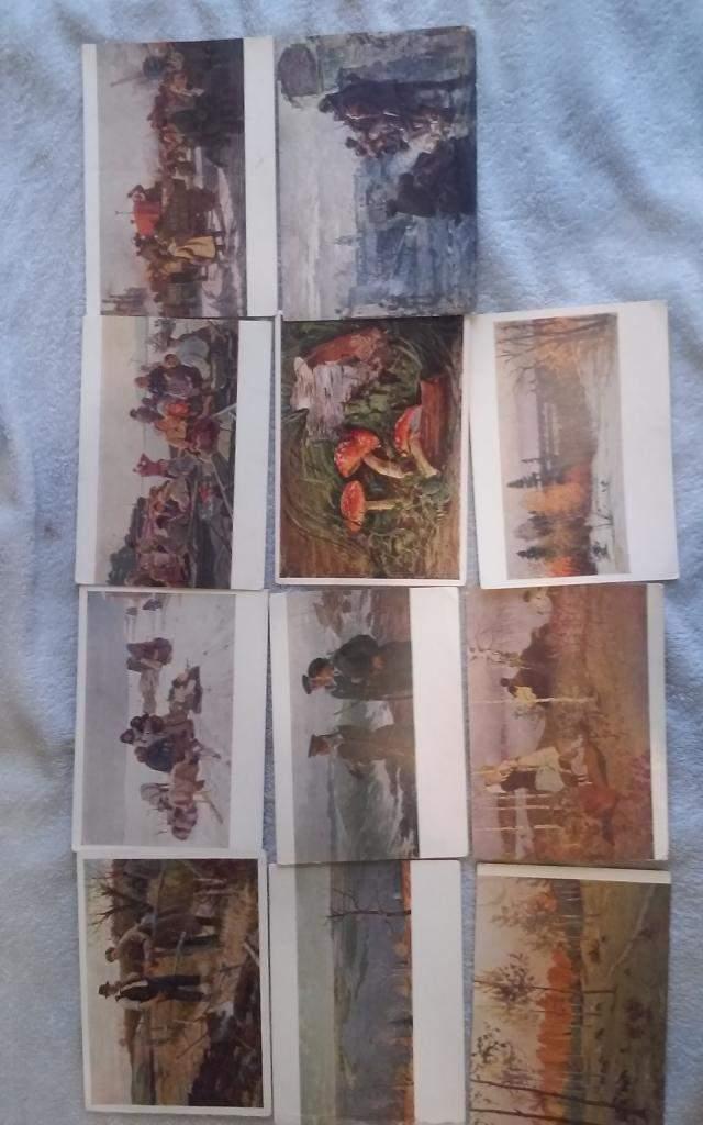 Коллекционные открытки продаю, надписью