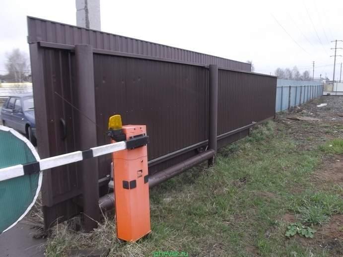 поезде интересом откатные ворота на участке с уклоном фото козлят выпущенных хозяевами