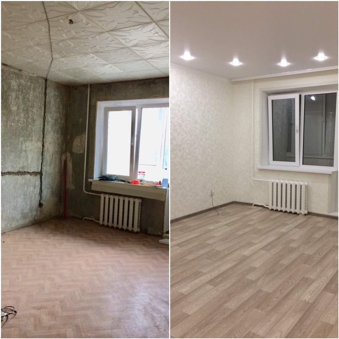 ремонт квартир фото до и после ремонта когда