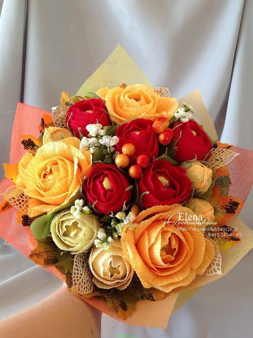 Живых цветов, осенние букеты ко дню учителя
