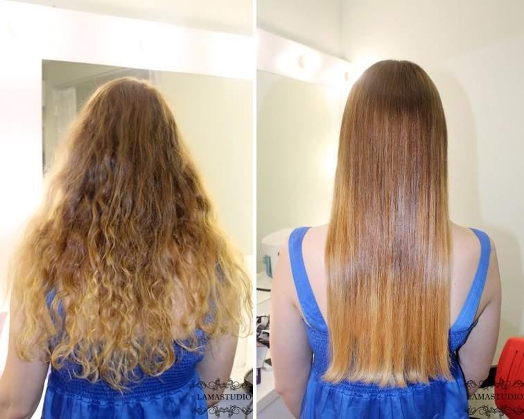 Кератиновое выпрямление волос ижевск
