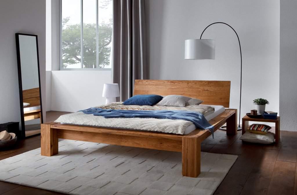 Двуспальная кровать из дерева своими руками фото