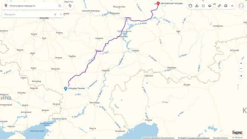 карты яндекс проложить маршрут от пункта а до пункта б на транспорте саратов