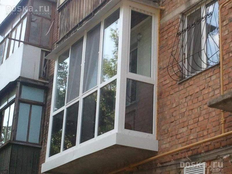 Балконы и лоджии с монтажом в омске по цене 5 000 руб., евге.